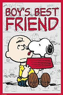 Pyramid America Peanuts Boys Best Friend Snoopy Charlie Brown Comic Strip Characters Cool Wall Decor Art Print Poster 24x36