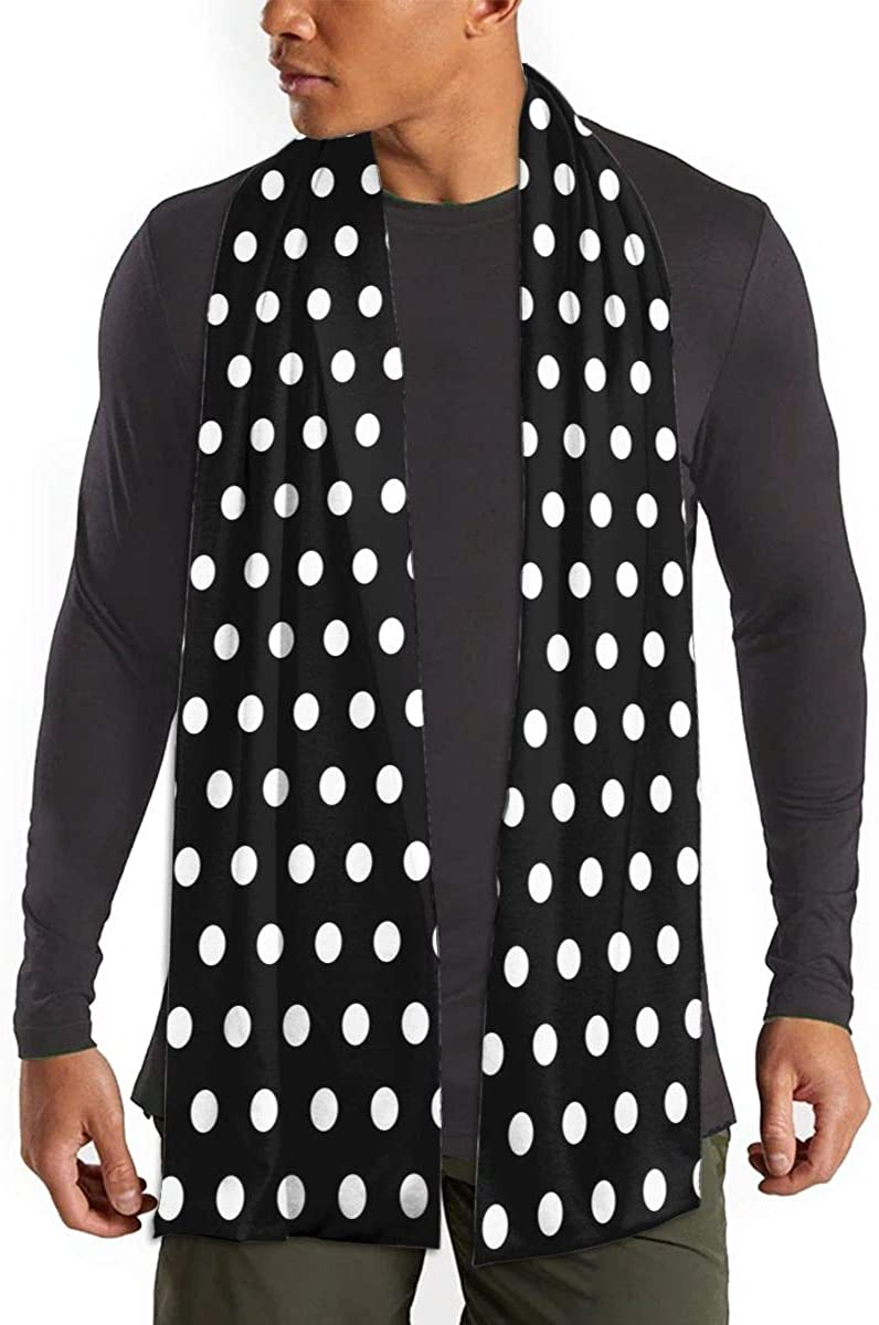 Black And White Polka Dot half Winter So Cheap mail order shopping Warm Scarf Fashion Fall Long