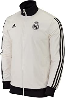 adidas Real Madrid CF CO TRK TOP [CWHITE/Black]