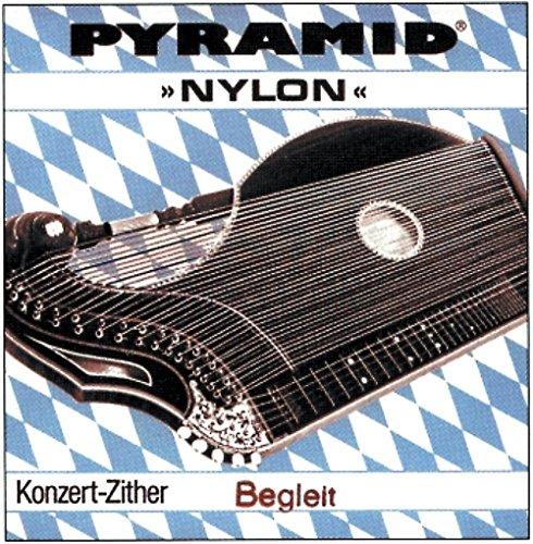 Pyramid Pyramid Satz Begleitsaiten für Zither Nylon