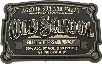 Old School PVC Patch (Urban (SWAT Black))