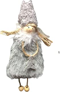 Yuui WHIO ręcznie robione ozdoby świąteczne Aniołki Zawieszka na Boże Narodzenie Dekoracja domu