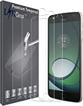 [4 Pack] LK Screen Protector for Moto Z Play/Moto Z Play Droid, [Tempered Glass] 9H Hardness, Anti Scratch