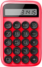 $59 » MHUI Standard Function Desktop Calculator 10 Digit Large LCD Display Calculators Handheld for Daily and Basic Office,Red
