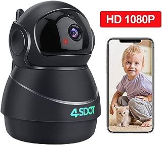 Wireless IP Camera 1080P,Nanny Cam,360 Degree Smart WiFi Camera 3D Navigation Panorama..