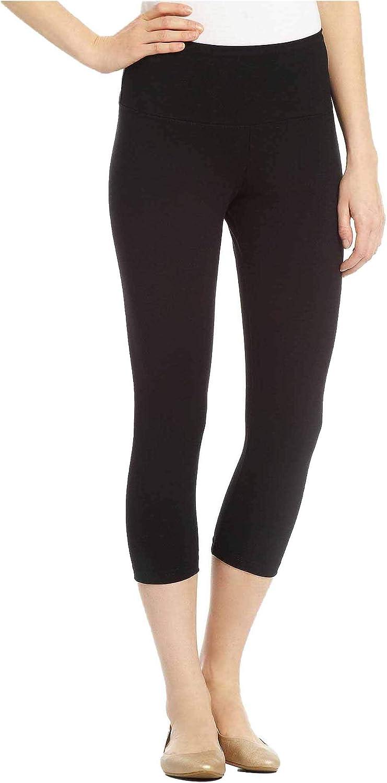 HUE Women's Brushed Fleece Seamless Leggings Small - Medium Black