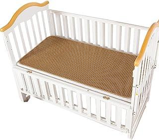 GUORRUI Summer Sleeping Mats Child Baby Bed Foldable Nap Mat Breathable Skin-friendly Refreshing No Burr Environmental Pro...