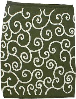 Kaya Japanese Haramaki Stomach/Body Warmer Belt Karakusa Design L Size Dark Green