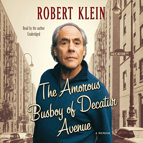 The Amorous Busboy of Decatur Avenue audiobook cover art