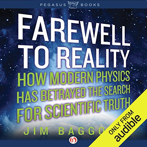 Farewell to Reality audiobook cover art