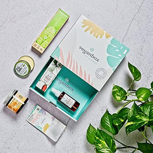 Vegan Box Highlightbox Beauty - Caja de regalo con al menos 5 productos de belleza veganos