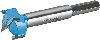 Roman Carbide DC1853 Carbide Forstner Bit, 1-1/16-Inch