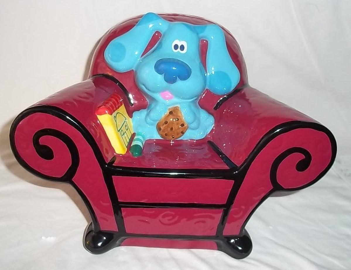 Zak Designs Blue's Clues Thinking Chair Cookie Jar