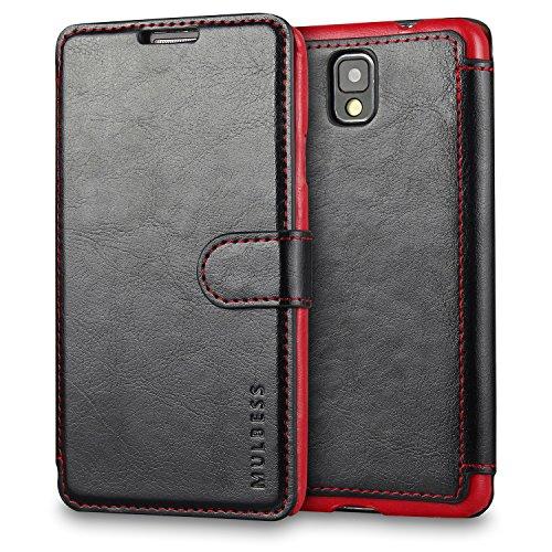 Mulbess Cover per Samsung Galaxy Note 3, Custodia Pelle con Magnetica per Samsung Galaxy Note 3 Caso, Nero
