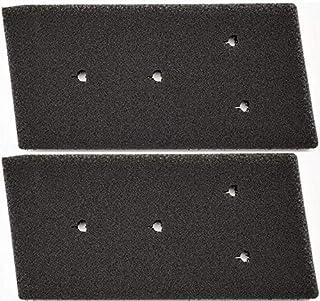 2er-Set Filter für Bauknecht Privileg Whirlpool HX 481010716911 Trockner Wärmepumpentrockner | Fein-Grob | 230 x 115 x 14mm | Schwammfilter Filtermatte Kondenstrockner | 100% Made in Germany Sponge