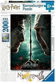 Ravensburger- Puzzle 200 p XXL Harry Potter vs Voldemort Enfant, 4005556128709
