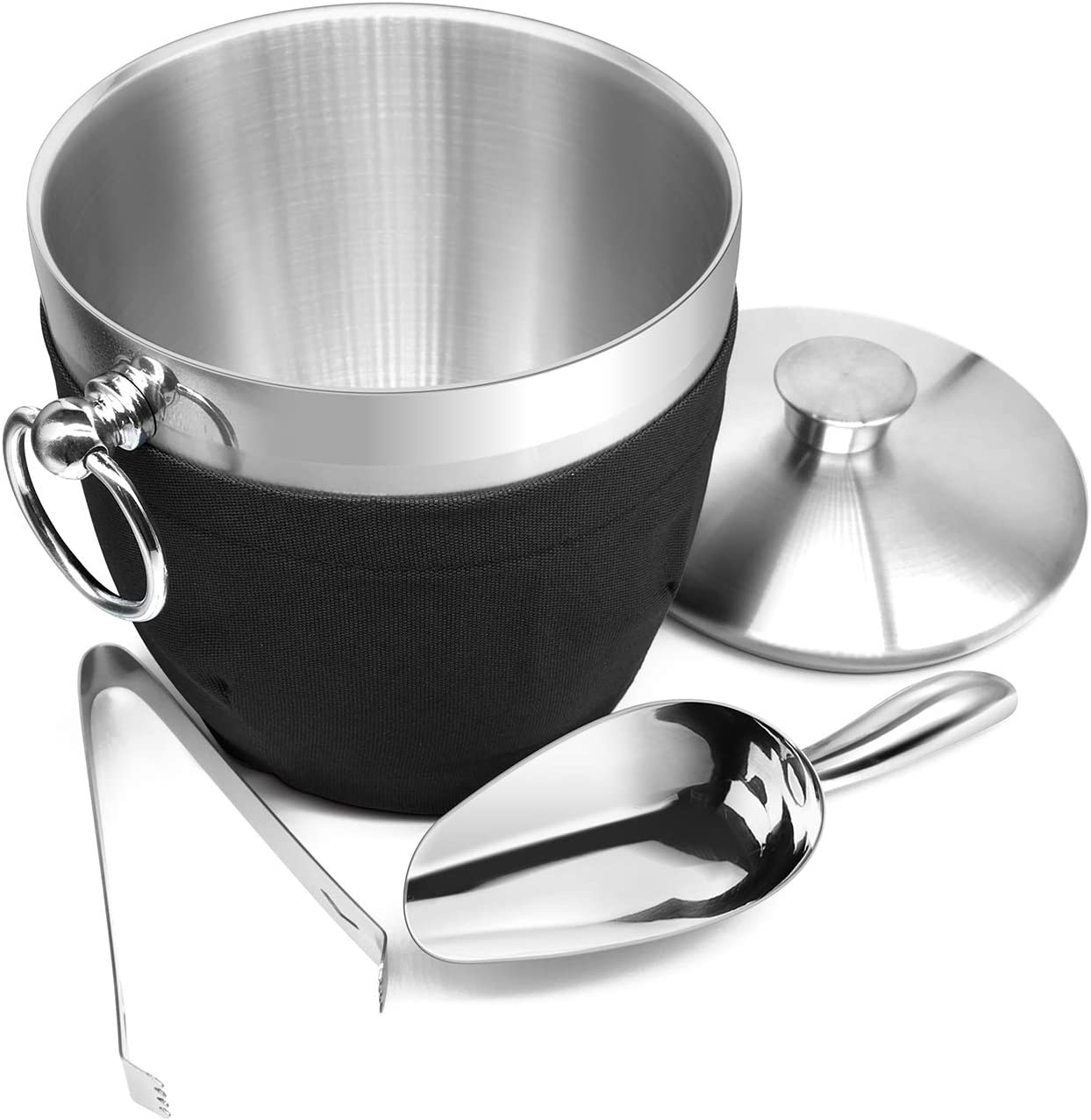 Fortune Candy Insulated Ice Bucket Online limited product Bombing new work Double Ste Stainless - Walled