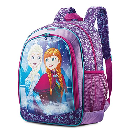 American Tourister Kids Disney Children's Backpack, Elsa & Anna