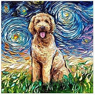 Diamant Schilderen set Volwassen 5D Diamond schilderij Teddy in sterrenhemel Keuken Decoratie Schilderen op Nummer Volledi...