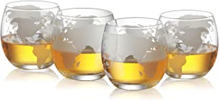 globe drinking glasses