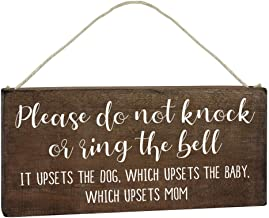 Best don't ring the doorbell sign Reviews