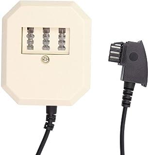 S/CONN maximum connectivity TAE F Stecker/TAE Buchse NFF+Western Buchse 0,2m
