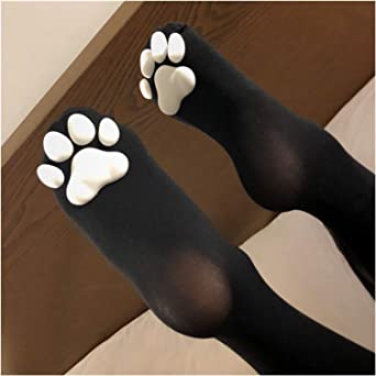 Jfsmgs Sok Kawaii Meisjes Antislip Sokken Leuke Kat Over Knie Sokken Vrouwen Lange Kousen voor Jurk