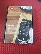 Motorola MOTOSURF A3100 GSM Unlocked Mobile Cellphone (Midnight Black with Summit Gold) - International Version No Warranty