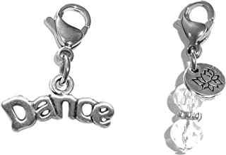 Clip On Charm, Bag, Purse, Handbag, Message, Keychain, Zipper Pull, Bracelets, Necklaces, Jewelry