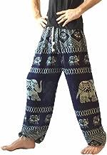 Love Quality Men's Baggy Printed Harem Pants