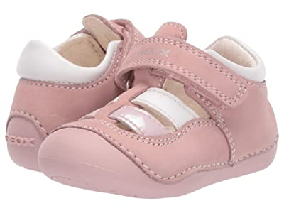 Geox Kids Tutim 35 (Infant/Toddler) (Light Pink) Girl