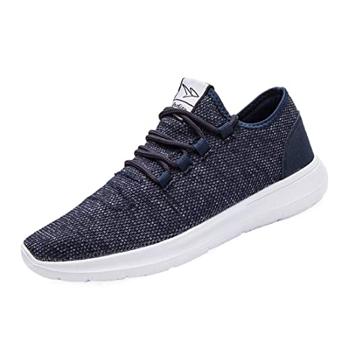 e61b23c61 KEEZMZ Men s Running Shoes Fashion Breathable Sneakers Mesh Soft Sole  Casual Athletic Lightweight