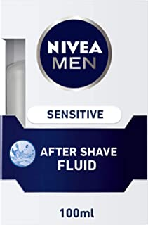 NIVEA, MEN, After Shave Fluid, Sensitive, 100ml