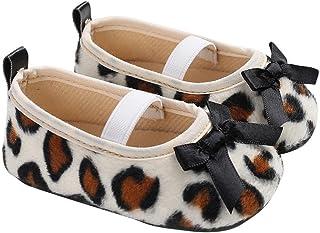 [Domybest] ベビーシューズ 幼児靴 女の子 キッズ 滑り止め 歩く練習 赤ちゃん 柔らかい 可愛い 快適 ソフトボトム マジックテープ 出産お祝い 春 夏 豹柄 人気