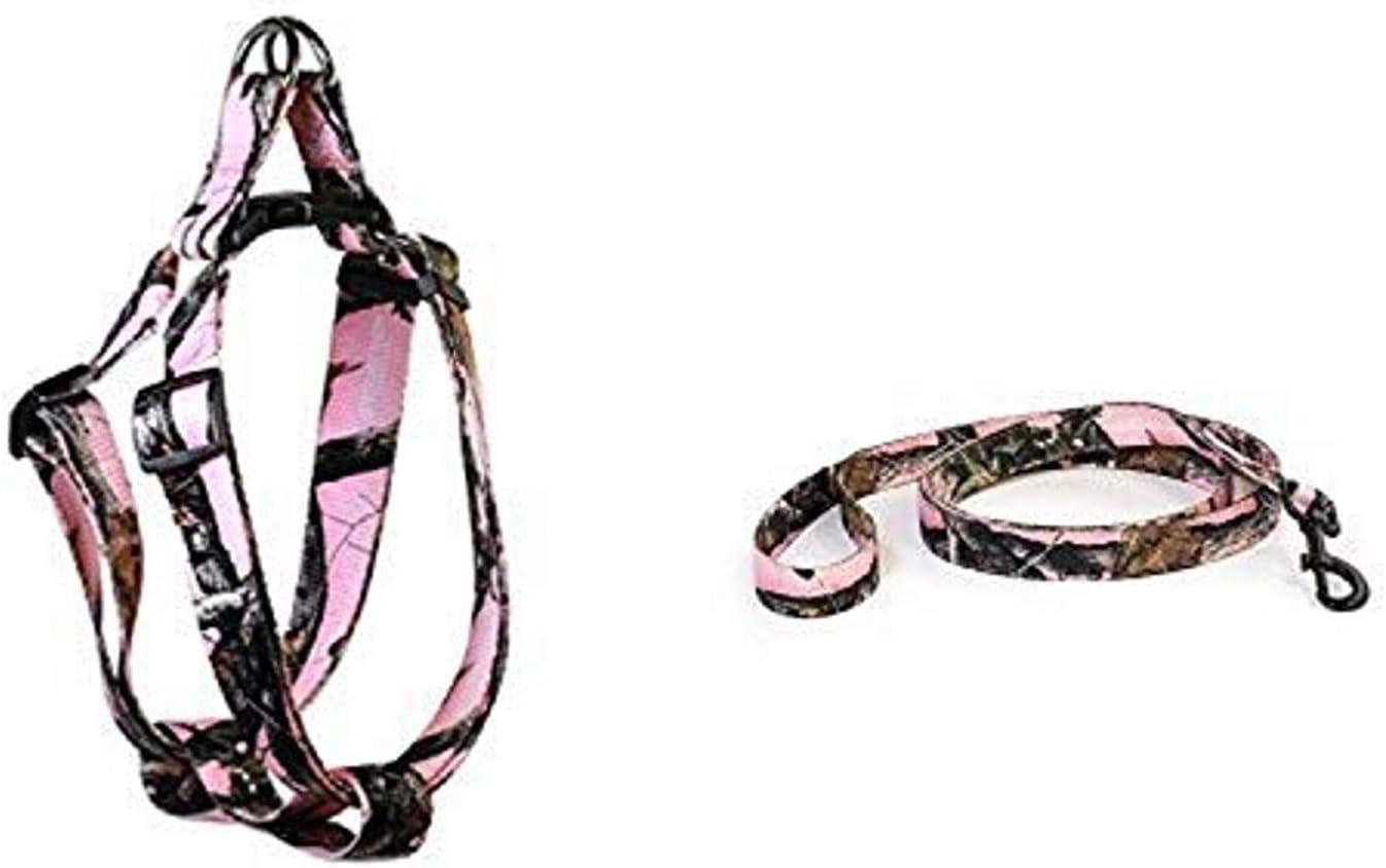 Pet Champion Adjustable No-Pull Regular dealer Matching Harness Collar Leash security