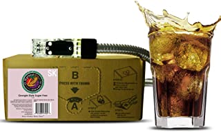 Bar Beverages Georgia Style Craft Sugar Free Cola (3 Gallon Bag-in-Box Syrup Concentrate) - Box Pours 18 Gallons of Diet Cola - Use with Bar Gun, Soda Fountain or SodaStream
