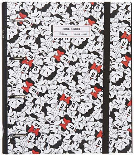 Carpeta 4 anillas troquelada premium Minnie Mouse rocks the dots