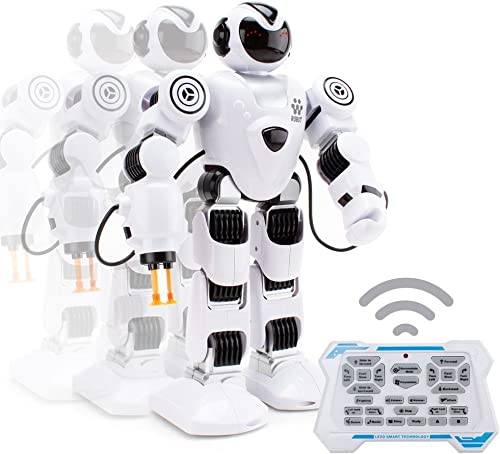 Ydq Intelligenter Multi Roboter FüR Kinder Elektronisches Spielzeug Tanzen Roboter Mit Musik Und Licht, Tanzen Singen Walking RC Spielzeug FüR Kinder Unterhaltung,