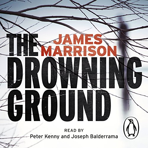 The Drowning Ground audiobook cover art