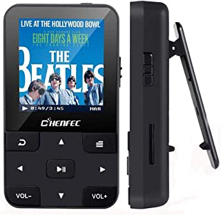 Mp3 Player with Bluetooth 4.0 16GB HiFi Lossless Sound Music Player with Fm Radio,E-Book,Voice Recorder,protable mp3 Music...