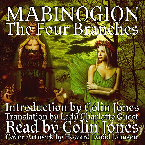Mabinogion, the Four Branches audiobook cover art