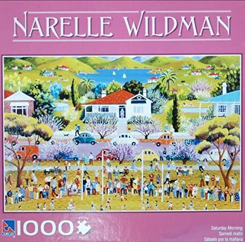 Narelle Wildman 1000-Piece Jigsaw Puzzle - Saturday Morning by Sure-Lox