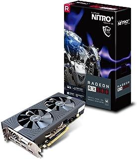 Sapphire RX 580 Nitro+ - Tarjeta gráfica de 8 GB, Color Negro