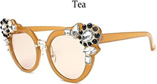 Womens Fashion Sunglasses Luxury Sunglass Sexy Pink Sunglasses For Women Oversize Crystal Vintage Shades Unique