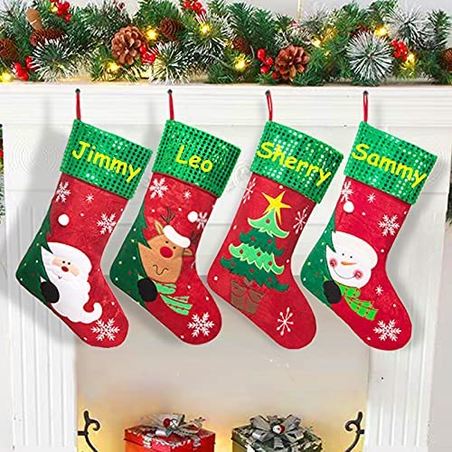 online shop MisUMis Personalized Christmas Stocking for 18inch Max 52% OFF Decorations