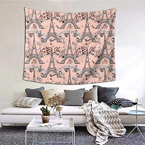Tapiz de pared para sala de estar, dormitorio, dormitorio, decoración de dormitorio, patrón de moda, 156 x 152 cm