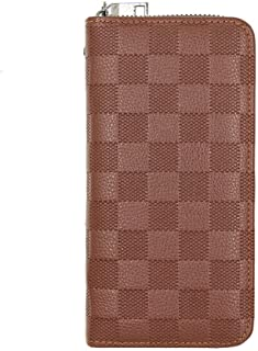 BeniNew men's long zipper wallet-Light-light