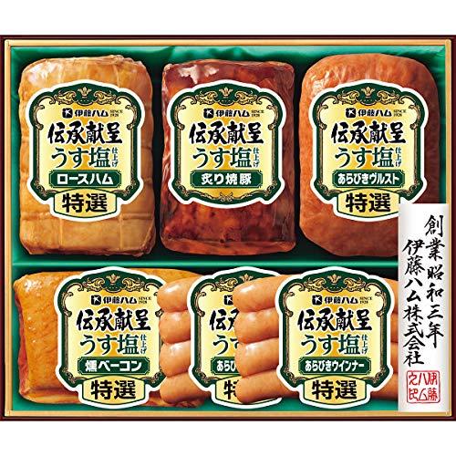 【お歳暮ギフト 12月お届け予約】 伊藤ハム 伝承献呈うす塩仕上げギフト GMU45