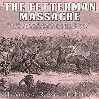 The Fetterman Massacre audiobook cover art