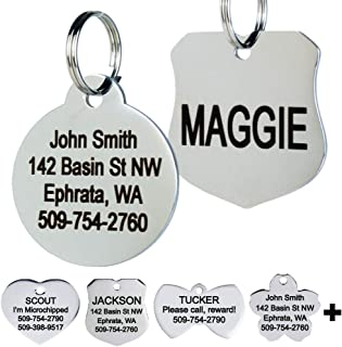 dog tag dog collar